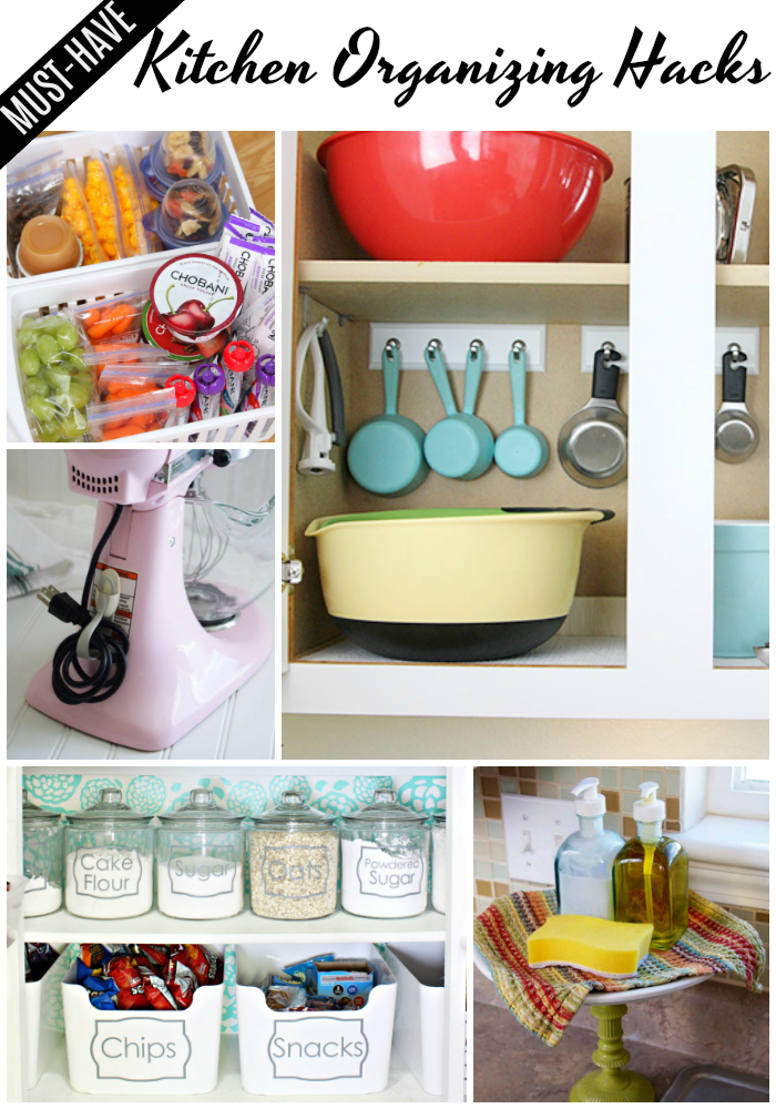 Creative Kitchen Organizing Ideas