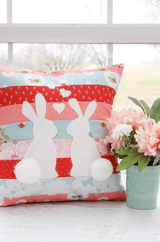 Vintage Keepsakes Spring Pillow