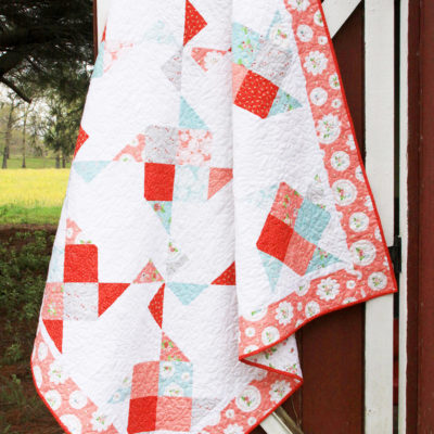 Patchwork Cakes Pinwheel Quilt