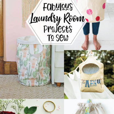 Fabulous Laundry Room Projects to Sew