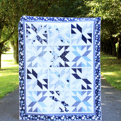 Something Borrowed Stacking Stars Quilt