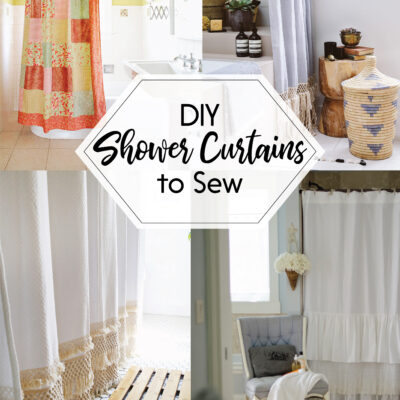 DIY Shower Curtains to Sew