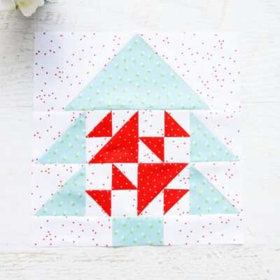 Merry Mini Quilt Block 4