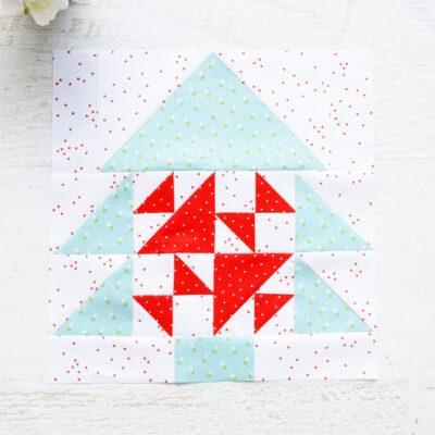Merry Mini Quilt Block 4