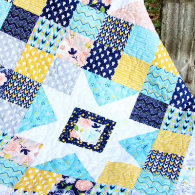 Starry Skies Free Quilt Pattern