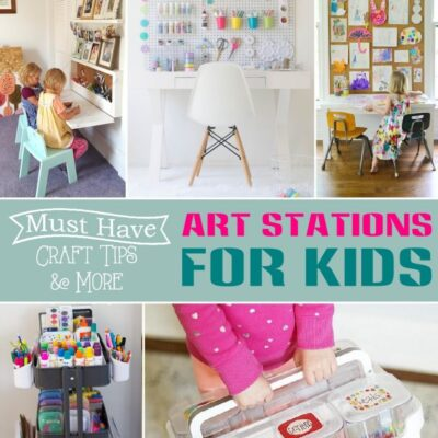 Creative Art Stations for Kids