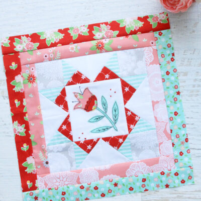 Happy Little Things Quilt Block 2