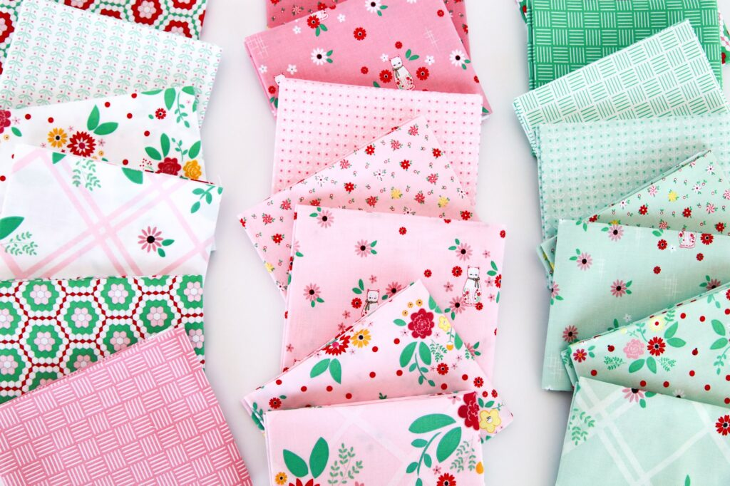 Rose Lane Fabric Collection featured by top US sewing blog, Flamingo Toes