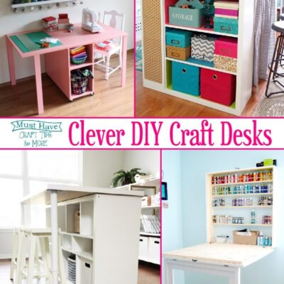 DIY Craft Desks