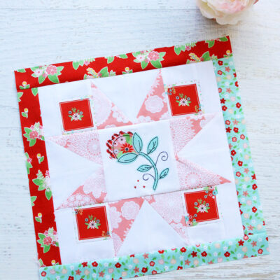 Happy Little Things Quilt Block of the Month 3