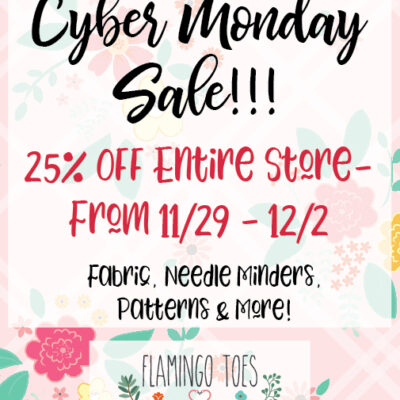 The Best Black Friday & Cyber Monday Sewing Sales!