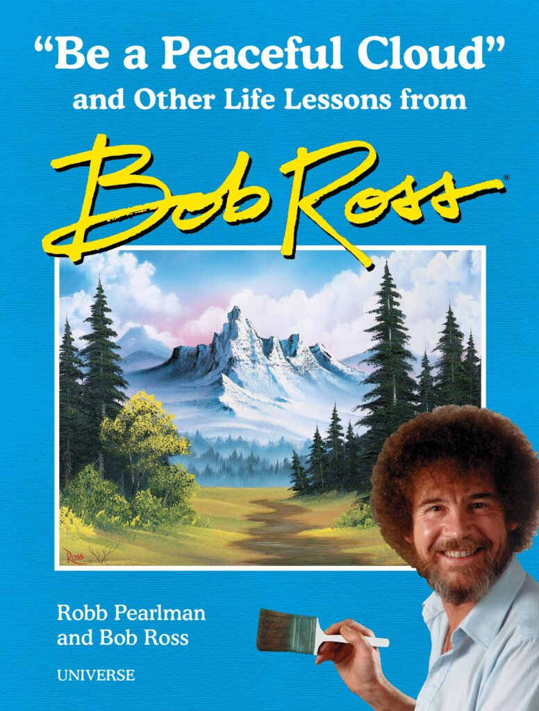 "Gift Ideas for ""Grown Ups""! by popular Tennessee life and style blog, Flamingo Toes: image of Be a Perfect Cloud Bob Ross book."