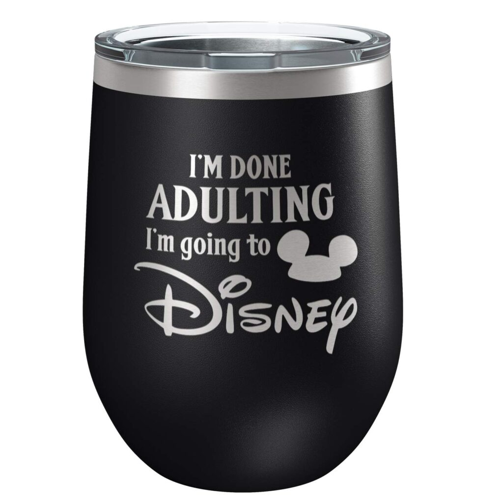 "Gift Ideas for ""Grown Ups""! by popular Tennessee life and style blog, Flamingo Toes: image of Disney tumbler."