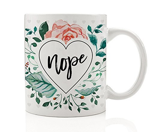 """Gift Ideas for """"Grown Ups""""! by popular Tennessee life and style blog, Flamingo Toes: image of a floral mug."""