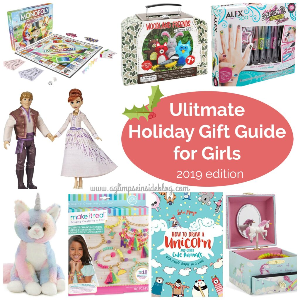 "Gift Ideas for ""Grown Ups""! by popular Tennessee life and style blog, Flamingo Toes: graphic image of gift guide for girls."