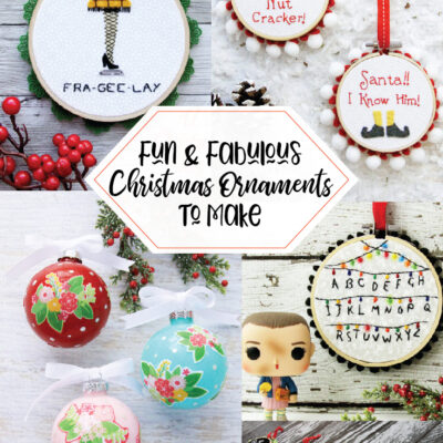 Fabulous and Fun DIY Christmas Ornaments