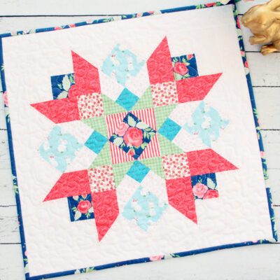 Winifred Rose Mini Quilt
