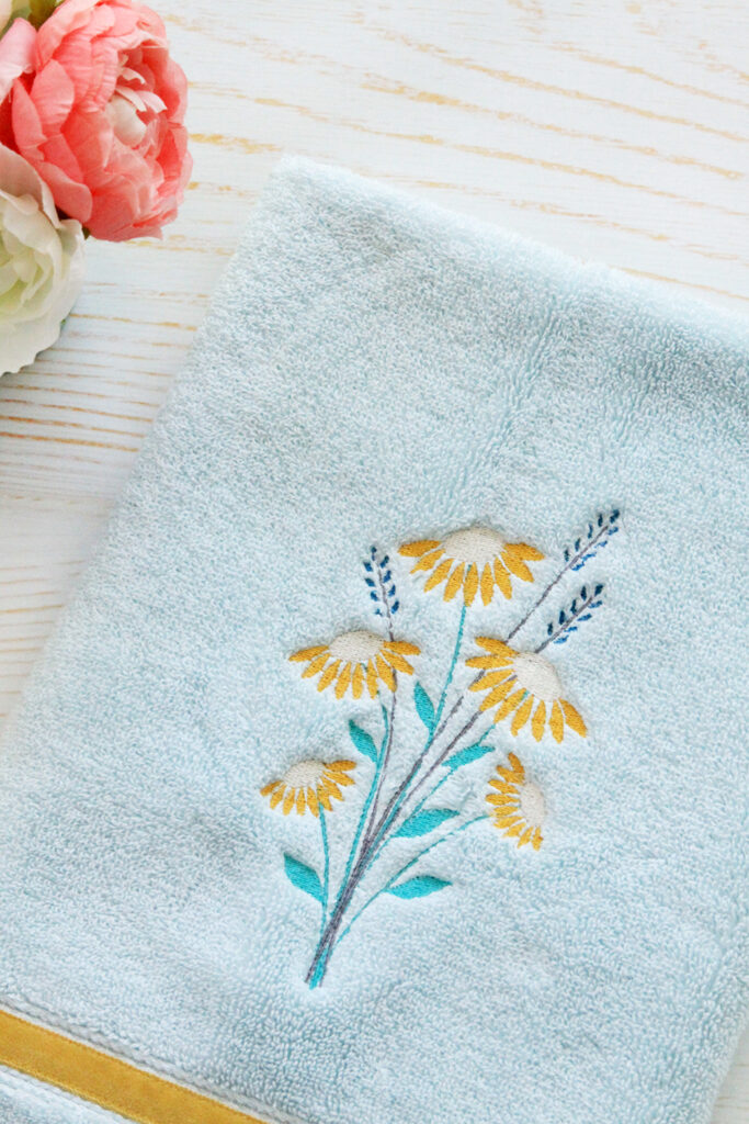 Wash Away Stabilizer Embroidery Project