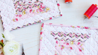 Love to Stitch Free Quilt Block Pattern