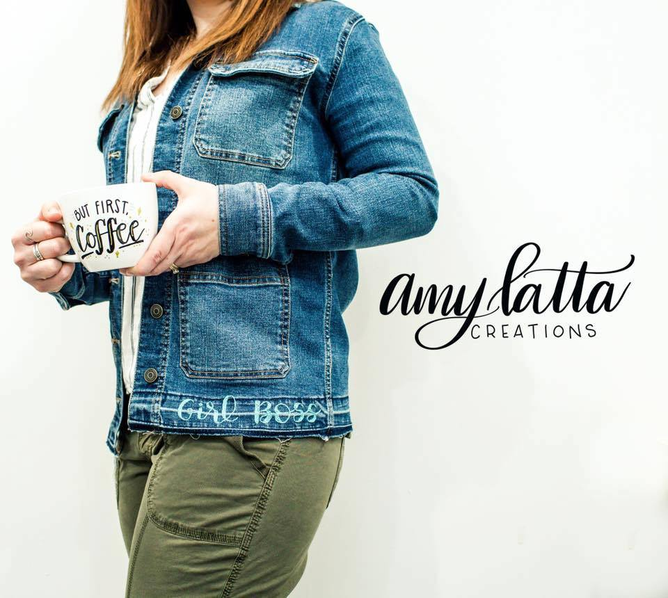 Amy Latta Creations - Hand Lettering Off the Page Book