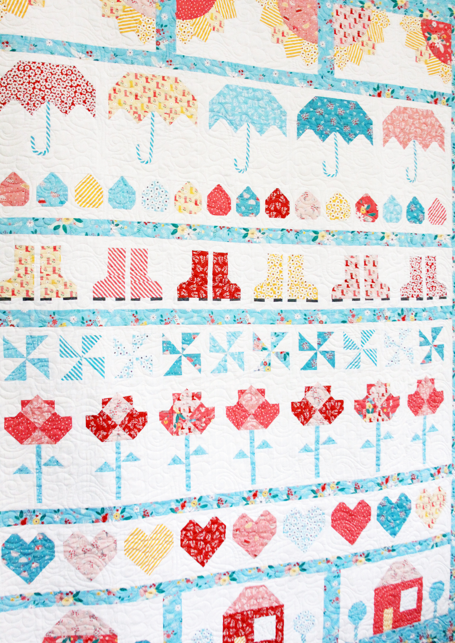 Singing in the Rain Quilt Pattern