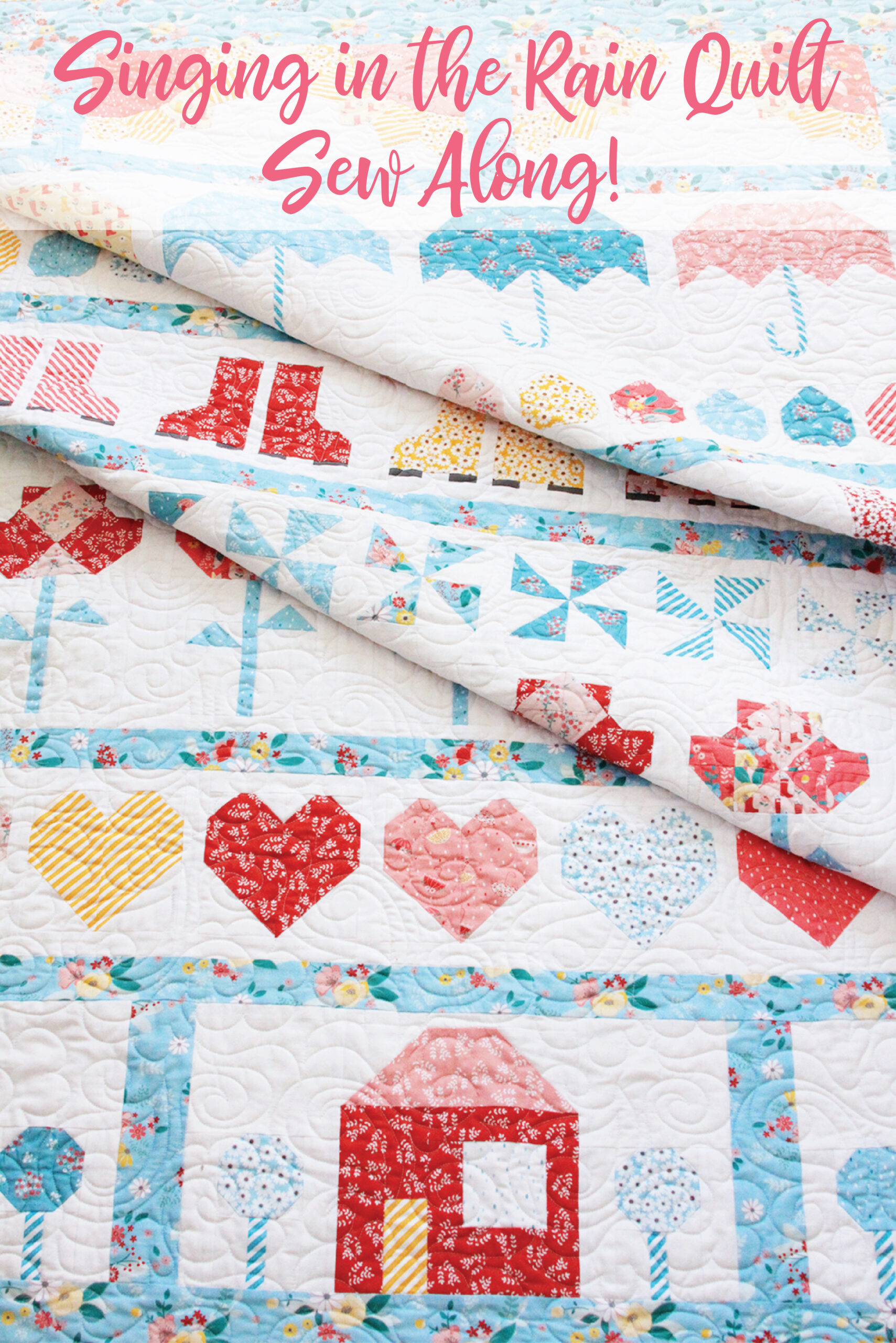 Singing in the Rain Quilt Sew Along