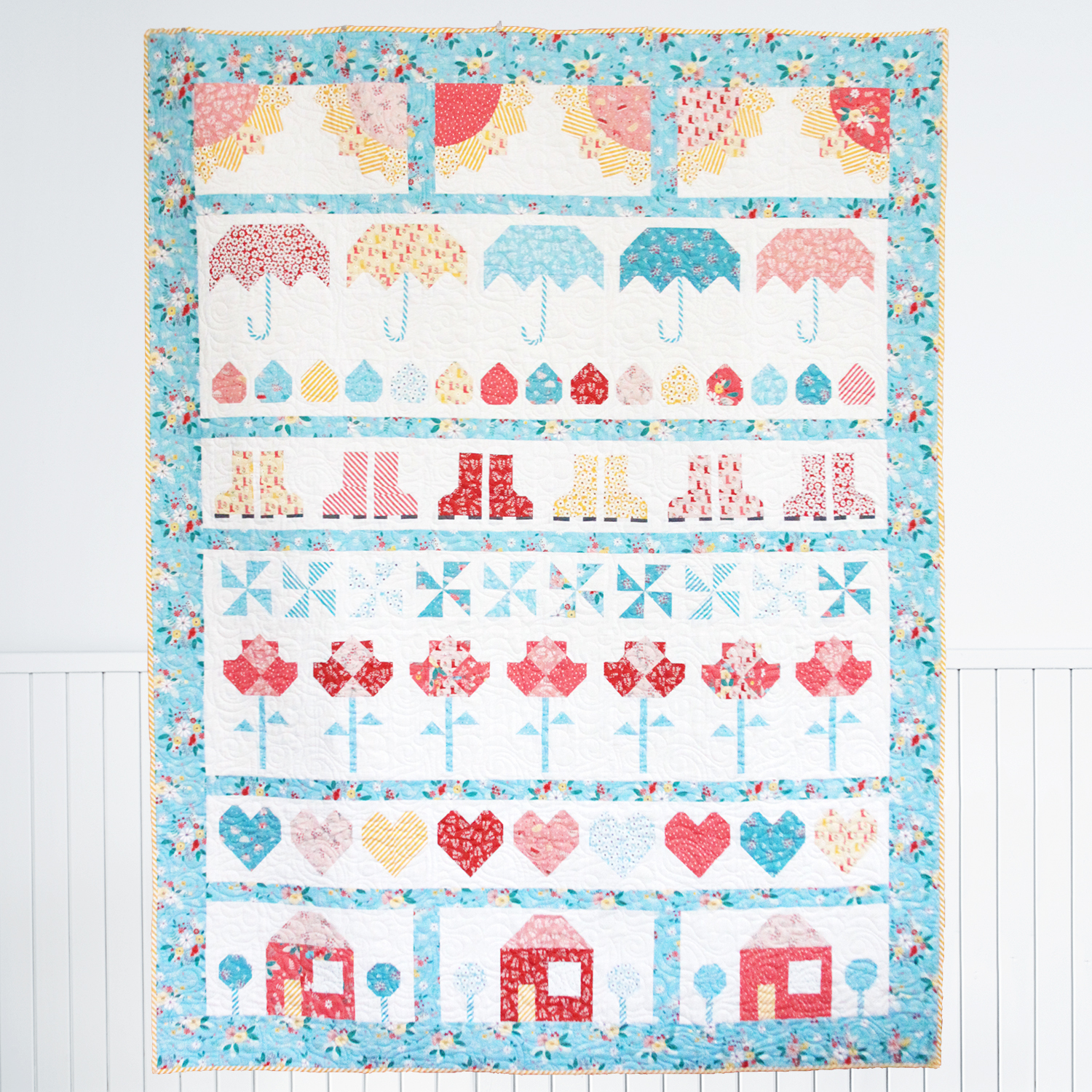 Singing in the Rain Quilt