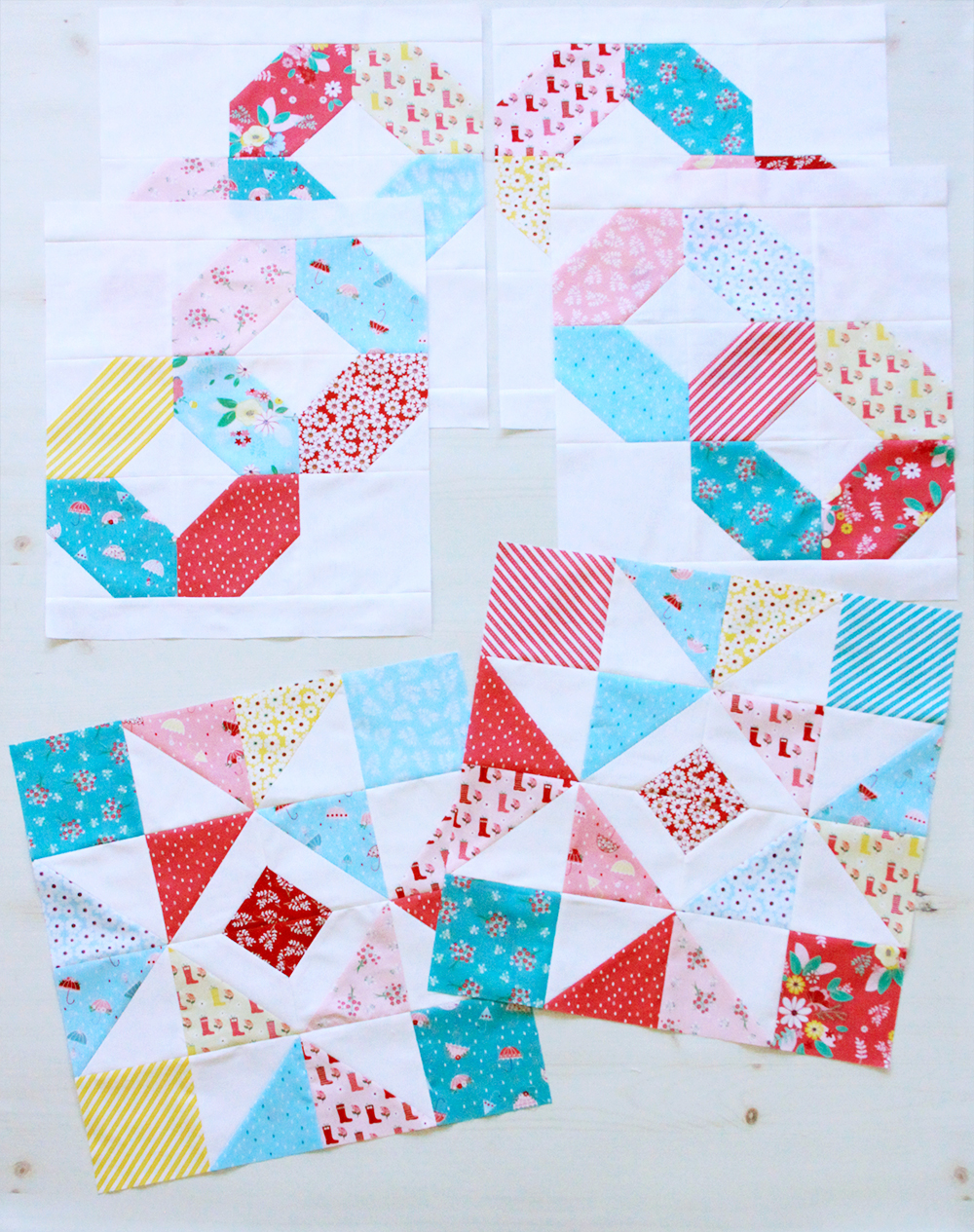 Charming Baby Quilt Blocks