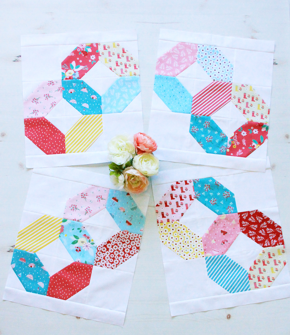 Charming Baby Sew Along Week 4 Quilt Blocks