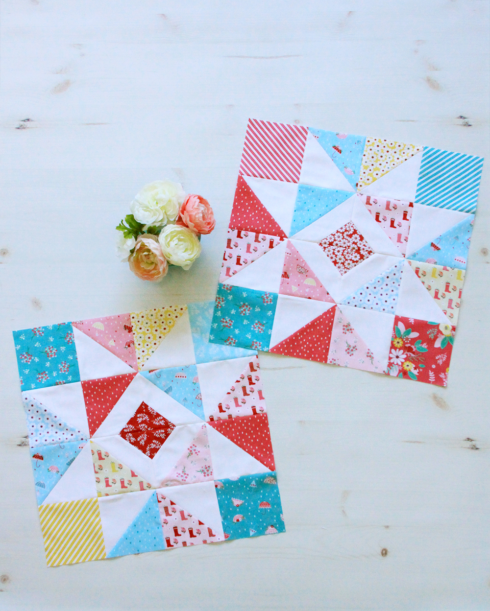Charming Baby Sampler Quilt Blocks