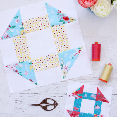 Churn Dash Quilt Blocks – RBD Block Challenge