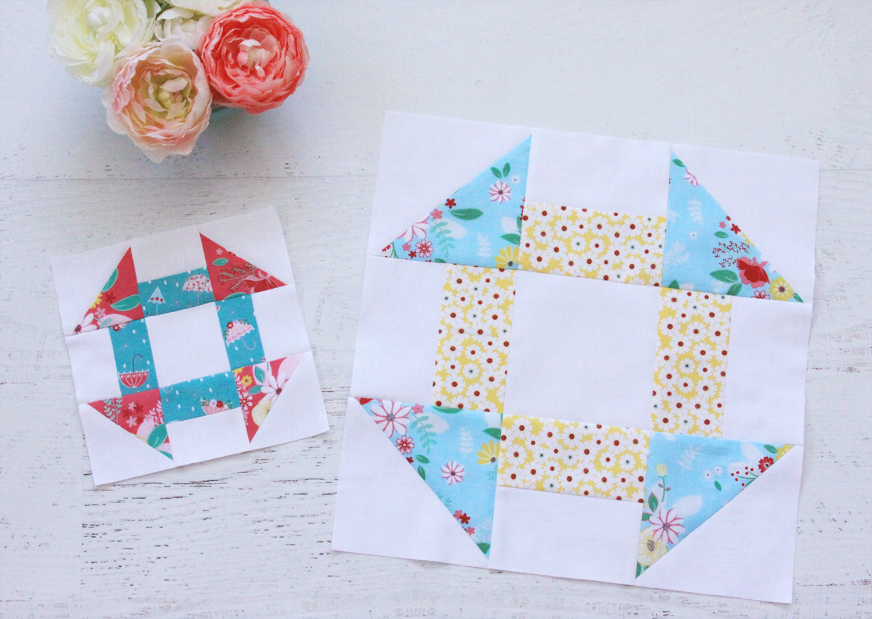 Riley Blake Designs Singing in the Rain Fabric Quilt Blocks
