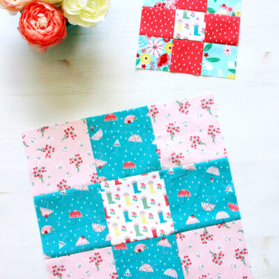 Easy Nine Patch Quilt Blocks – RBD Block Challenge