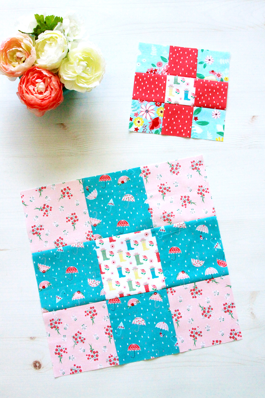 Easy Nine Patch Quilt Blocks - RBD Block Challenge
