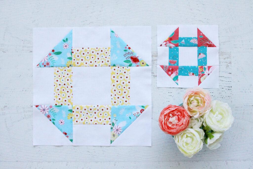 Classic Quilt Blocks - Churn Dash