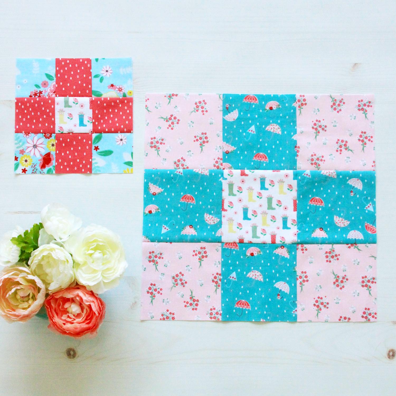 Easy Nine Patch Quilt Blocks