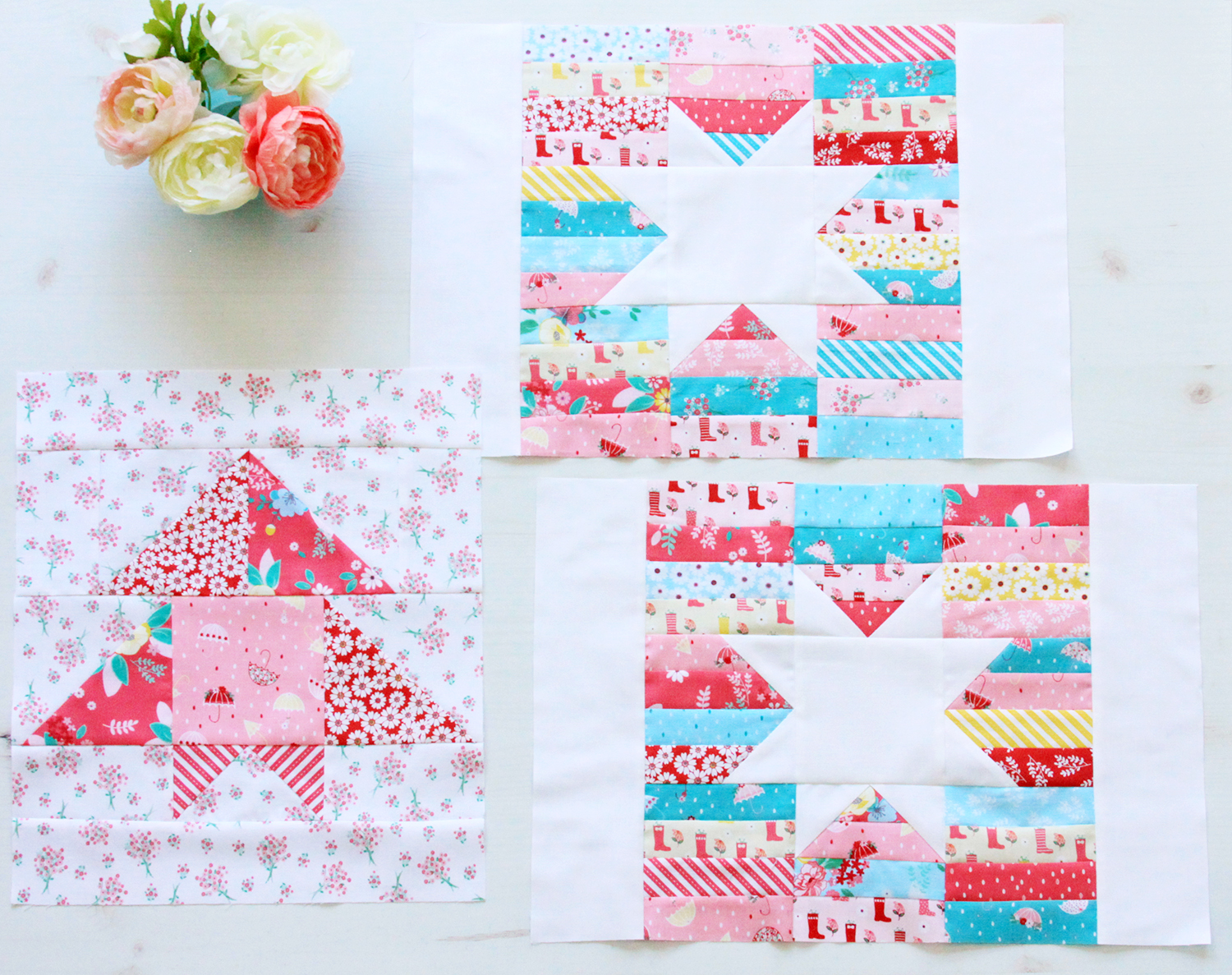 Charming Baby Quilt Sew along Week 5