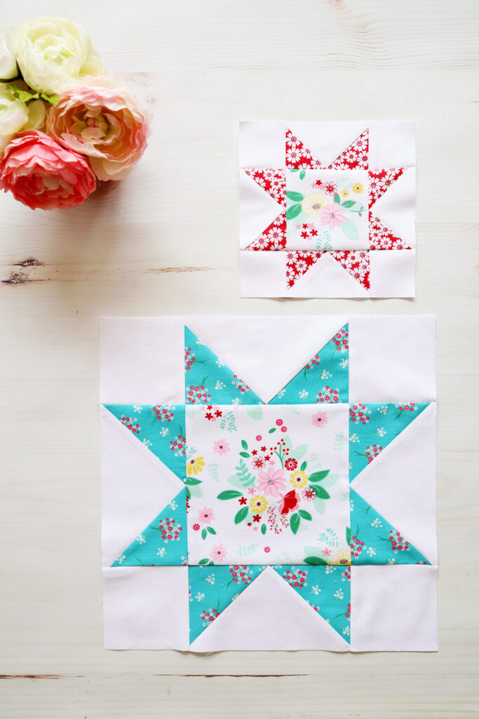 Easy Sawtooth Star Quilt Block - RBD Block Challenge