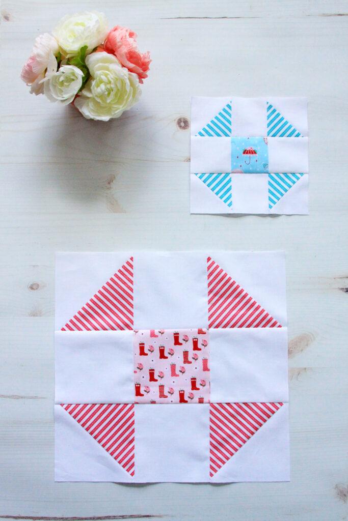 Shoo Fly Quilt Blocks