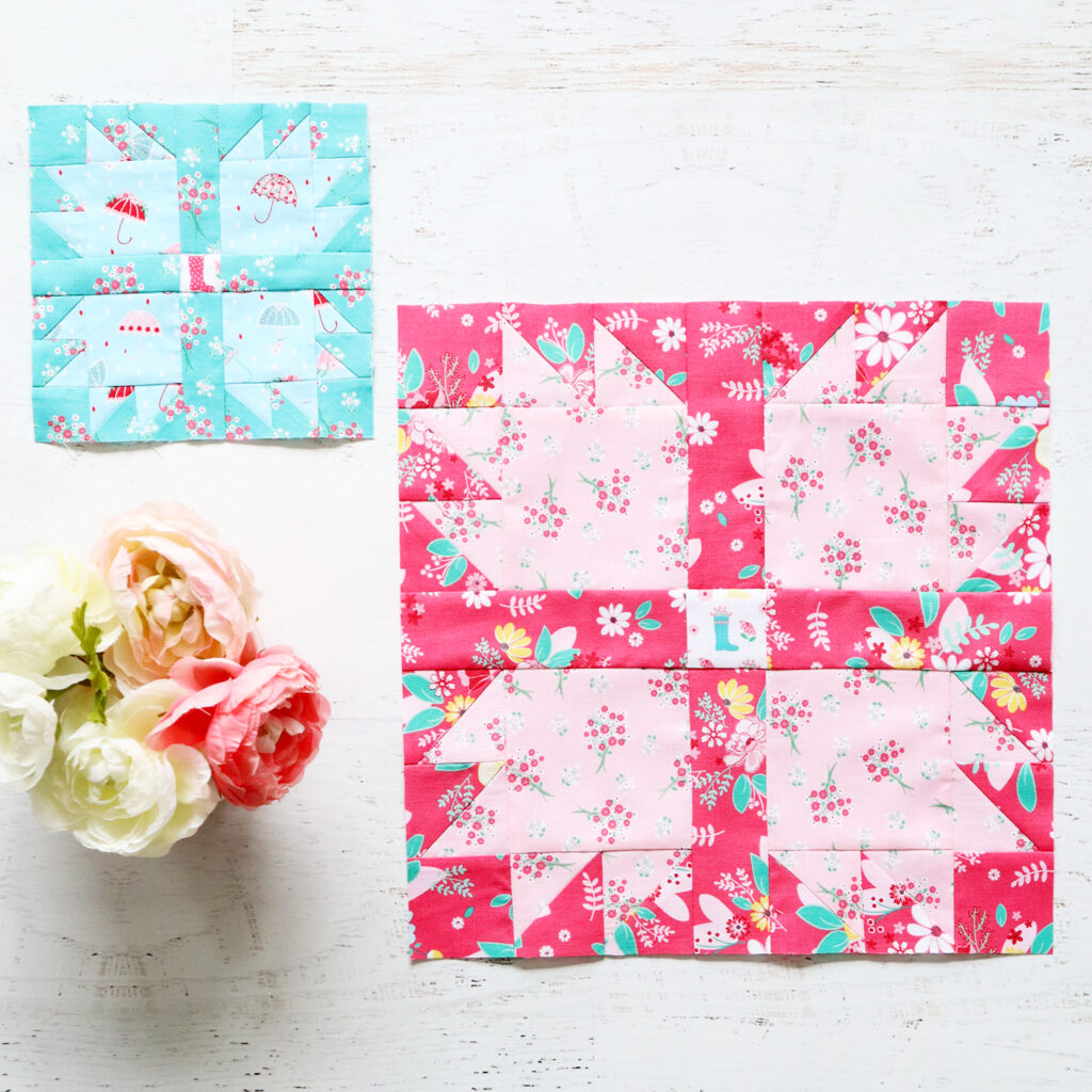 Easy Bear Paw Quilt Block - RBD Block Challenge