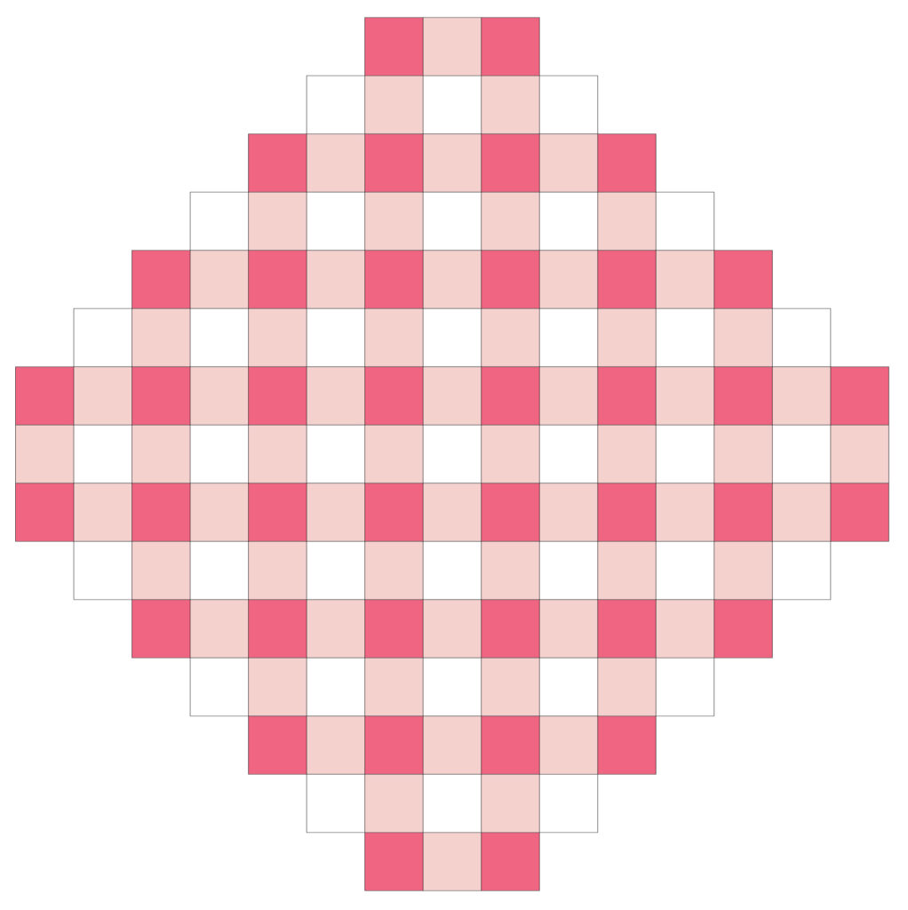 Assembling the Patchwork Gingham Pillow