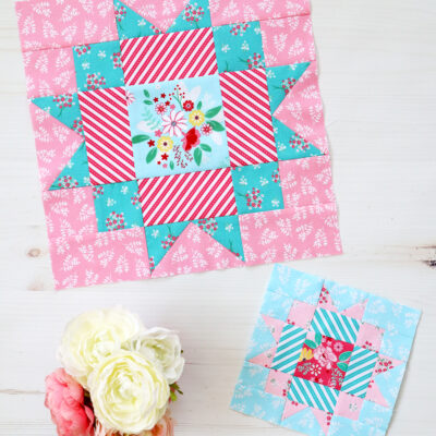 Easy Maple Star Quilt Block – RBD Block Challenge