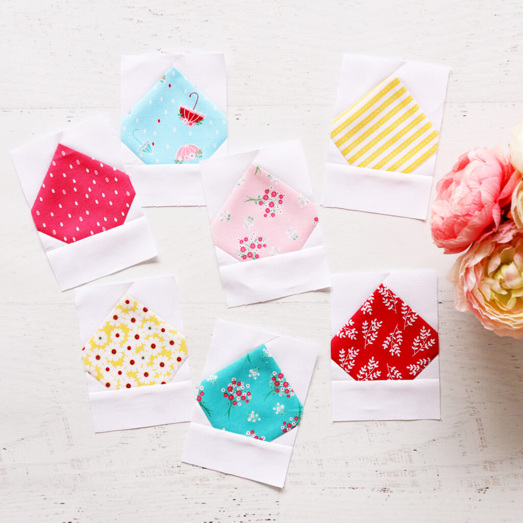Rain Drop Quilt Blocks
