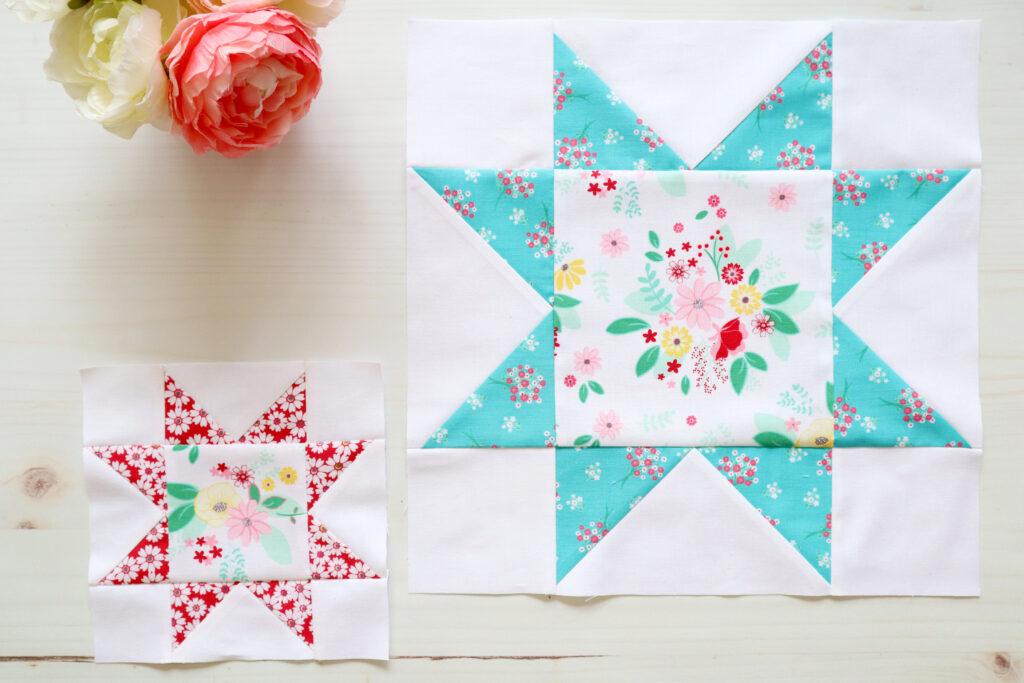 Sawtooth Star Quilt Blocks