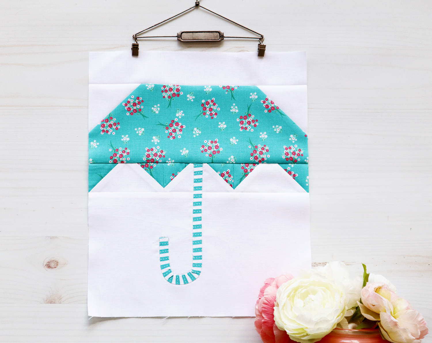 Umbrella Quilt Block