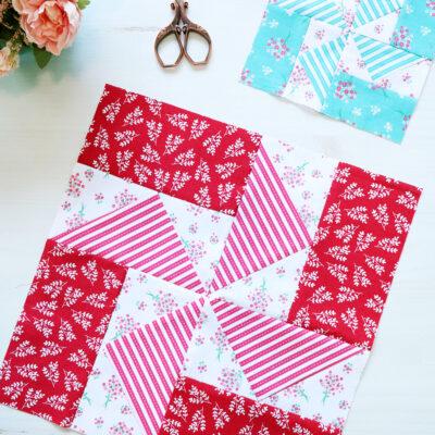 Easy Pinwheel Quilt Block – RBD Block Challenge