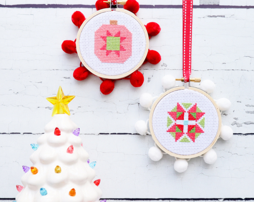 Christmas Cross Stitch Ornaments