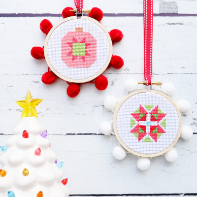 Starry Ornament Cross Stitch Patterns