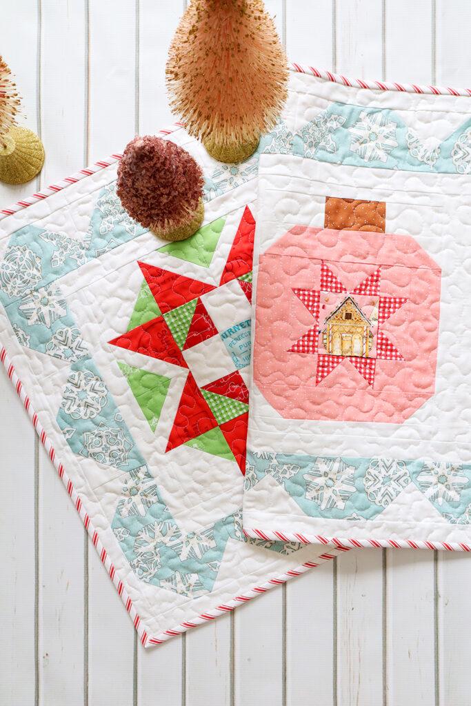 Starry Ornament Christmas Table Runner