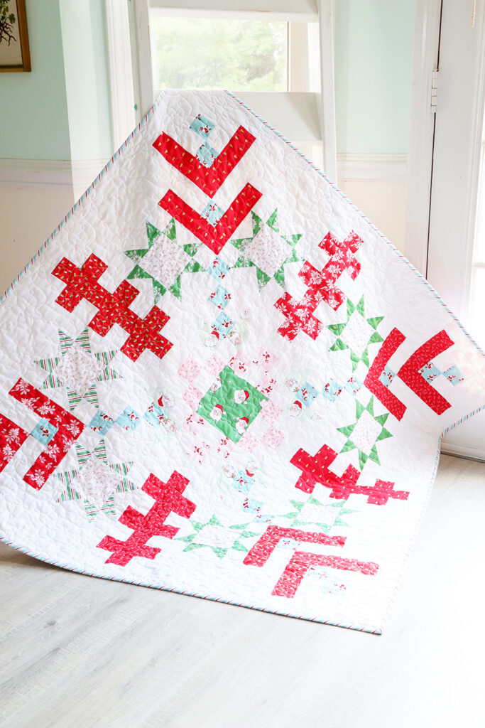 Jelly Snowflake Mystery Quilt Finish